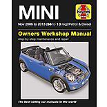 Haynes Mini Petrol & Diesel Manual (Nov 06 - 13) 56 to 13