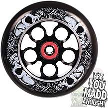 image of MGP Aero Ninja Wheel 110mm including Bearings - Black