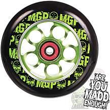 image of MGP Aero Ninja Wheel 110mm including Bearings - Green
