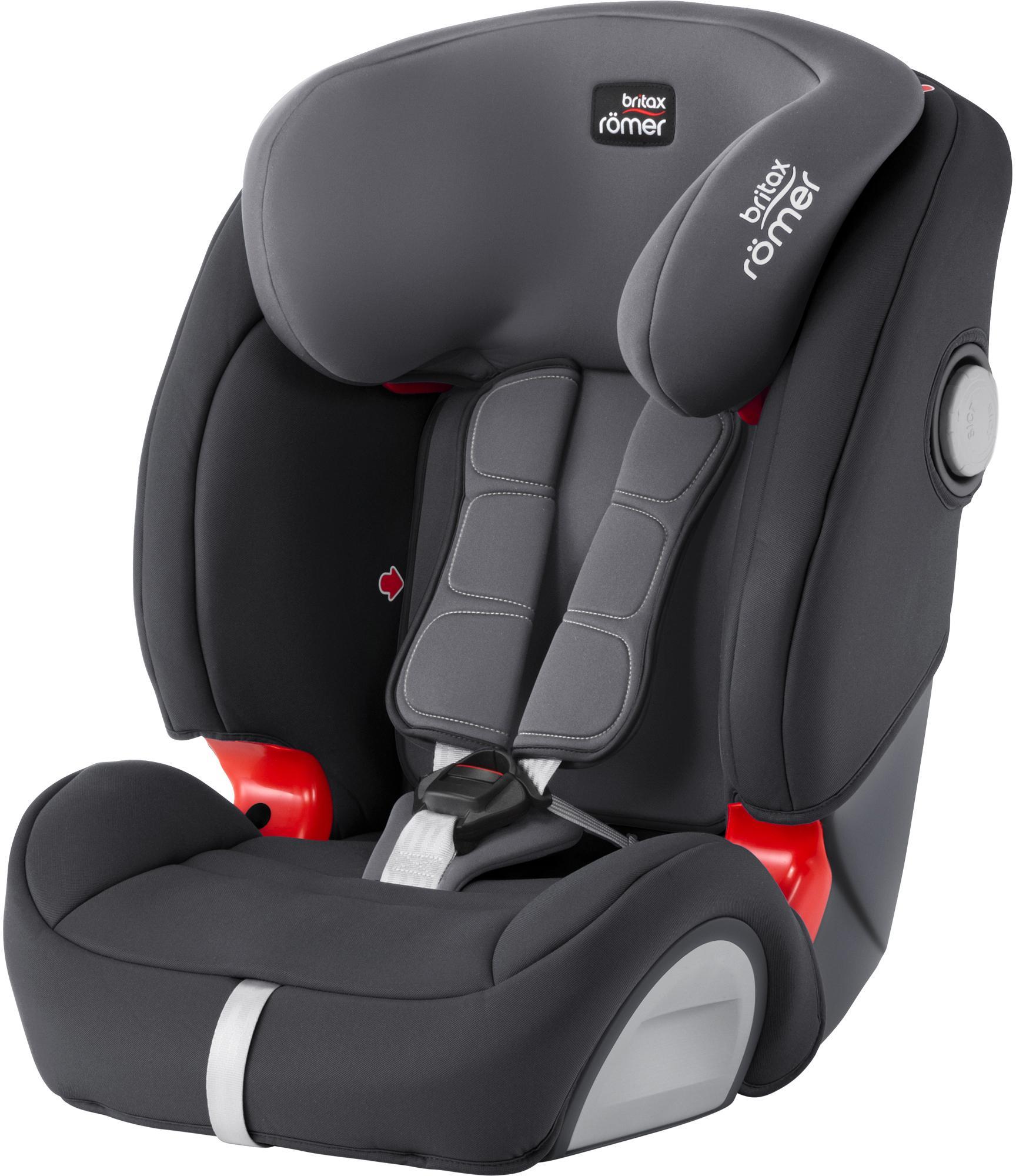 Britax Evolva 1-2-3 Sl Sict Child Car Seat - Storm Grey