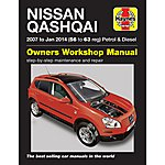 image of Haynes Nissan Qashqai Petrol & Diesel Manual (07 to 12) 56 to 62