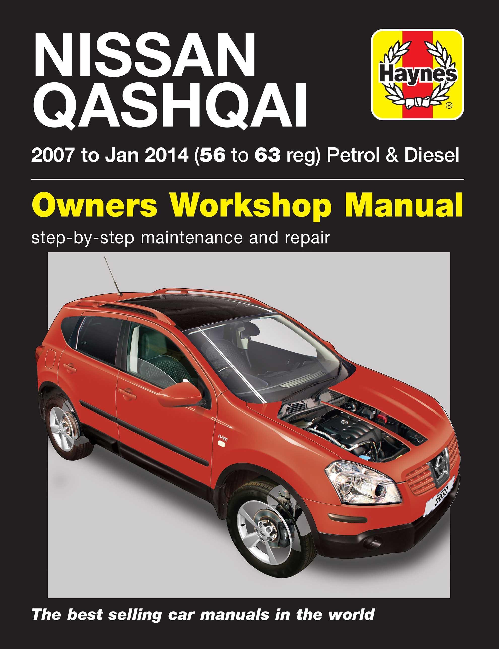 haynes nissan qashqai petrol dies rh halfords com Manuals Nissan Originaservice Nissan Factory Service Manual