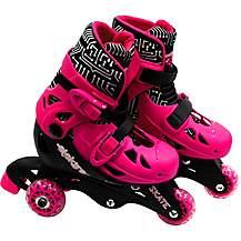image of Elektra Tri Line Skates Pink & Black