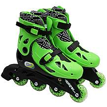 image of Elektra In Line Skates Green