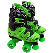 image of Elektra Quad Boots Black & green