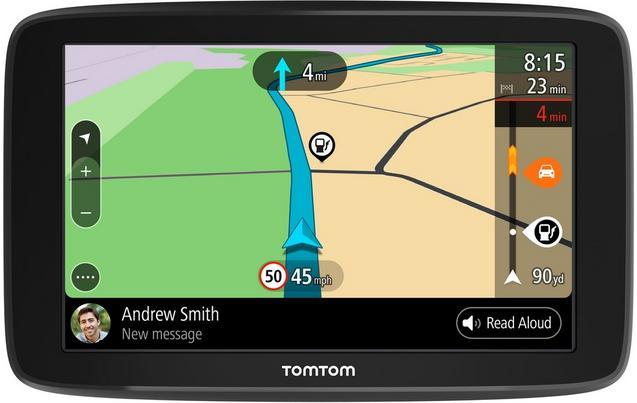 """TomTom GO Basic 5"""" Sat Nav with Lifetime Full Europe Maps"""