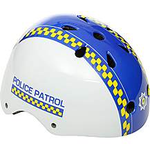 image of Apollo Police Patrol Kids Bike Helmet (48-54cm) 2018