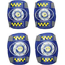 image of Apollo Police Patrol Kids Bike Pads - 3-6 years