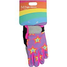 image of Full Finger Rainbow Gloves (Ages 3-7)