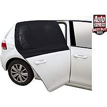image of Halfords Rear Window Sunshade - Curve Shape