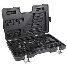 image of Halfords Advanced  120pc Blow Mould Case