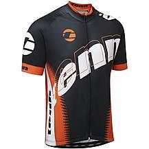 image of Tenn Pro Cycling Jersey - Black/Orange