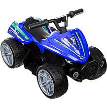 image of Roadsterz Volt 6V Electric Ride On Quad - Blue