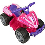 image of Roadsterz Volt 6V Electric Ride On Quad - Pink