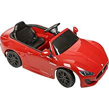 image of Maserati GranCab 12V Electric Ride On Car with Remote Control