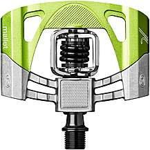 Crankbrothers Mallet 2 Pedals - Silver/Green