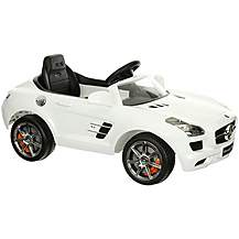 image of Mercedes SLS 6V Electric Ride On Car with Remote Control