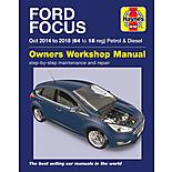 Ford Focus Petrol & Diesel (14-18) Manual