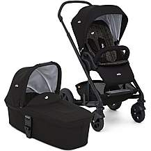 image of Joie Chrome DLX Stroller with Carrycot