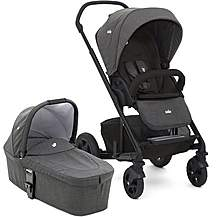 image of Ex-Display Joie Chrome DLX Stroller with Carrycot - Pavement