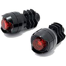 image of Cateye Orb Black Bar End Bike Lights