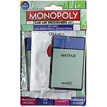 image of Monopoly Park Lane 3 Pack Air Freshener