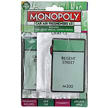 image of Monopoly Oxford 3 Pack Air Freshener