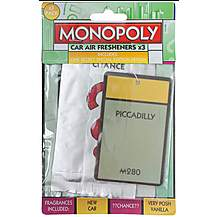 image of Monopoly Leicester 3 Pack Air Freshener