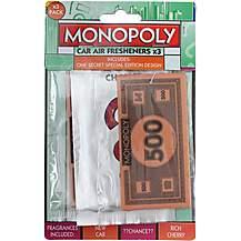 image of Monopoly Money 3 Pack Air Freshener