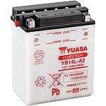 image of Yuasa YB14L-A2 Yumicron Motorcycle Battery