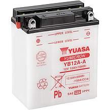 image of Yuasa YB12A-A Yumicron Motorcycle Battery