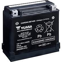 image of Yuasa YTX20HL-BS High Performance Motorcycle Battery