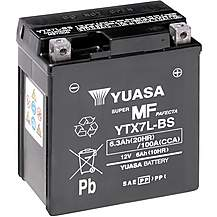 image of Yuasa YTX7L-BS Maintenance Free Motorcycle Battery