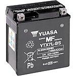 image of Yuasa YTX7L-BS Maintenance Free Motorcycle Battery