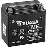 Yuasa YTX14-BS Maintenance Free Motorcycle Battery