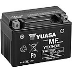 image of Yuasa YTX9-BS Maintenance Free Motorcycle Battery