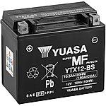 image of Yuasa YTX12-BS Maintenance Free Motorcycle Battery