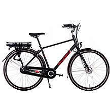 image of Raleigh Array Crossbar Nexus Hub Electric Hybrid Bike - Black - 19""