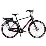 "image of Raleigh Array Crossbar Nexus Hub Electric Hybrid Bike - Black - 19"""
