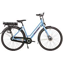 image of Raleigh Array Lowstep Nexus Hub Electric Hybrid Bike - Denim - 18""