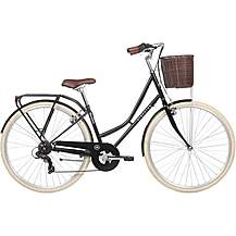 "image of Kingston Hampton 2018 Classic Bike - Black - 16"", 19"" Frames"