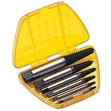 image of Laser 6 piece Screw Extractor Set