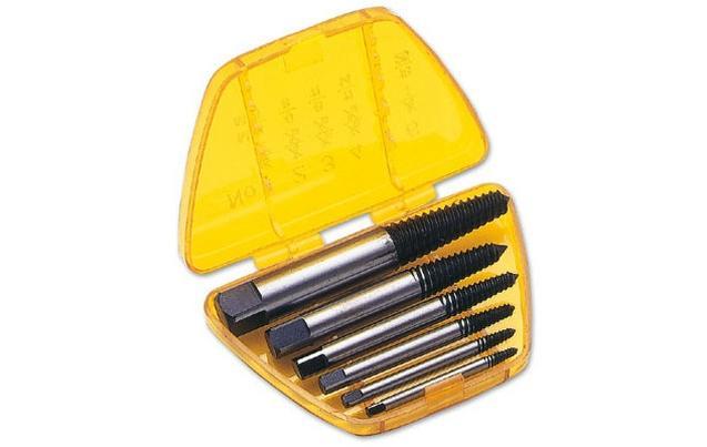 Laser 6 piece Screw Extractor Set
