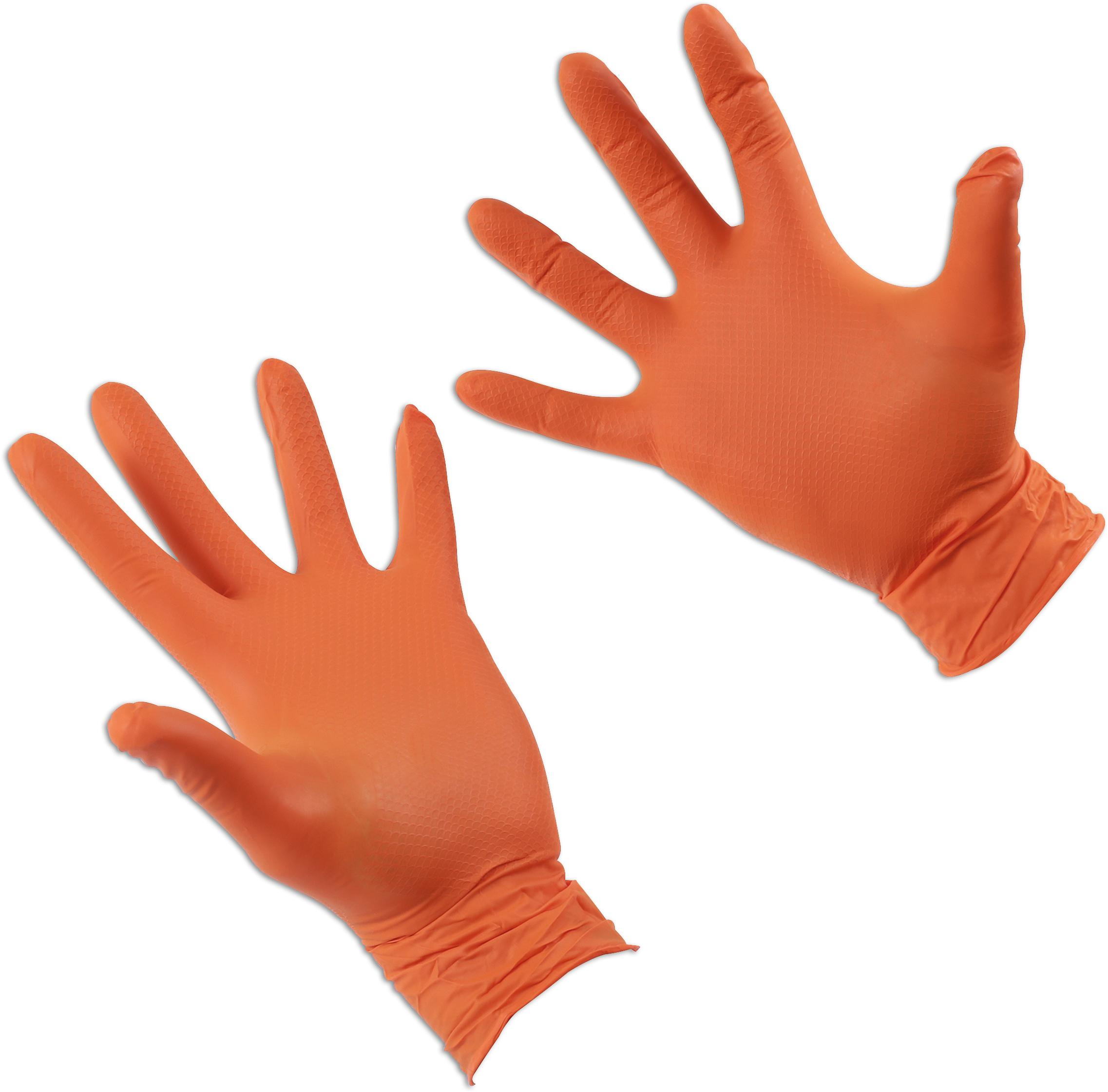 Grippaz Large Nitrile Gloves Retail Bag of 10 Pieces