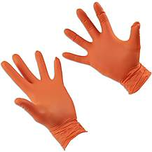 image of Grippaz Extra Large Nitrile Gloves Retail Bag of 10 Pieces