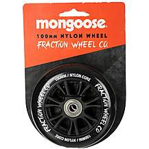 image of Mongoose 100mm Nylon Wheel Black