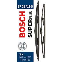 image of Bosch SP21/19S Wiper Blades - Front Pair