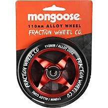 image of Mongoose 110mm Alloy Wheel Red/Black
