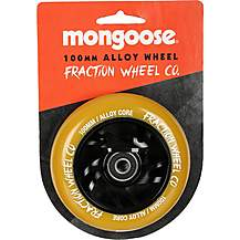 image of Mongoose 100mm Alloy Wheel Black/Gum