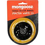 Mongoose 100mm Alloy Wheel Black/Gum